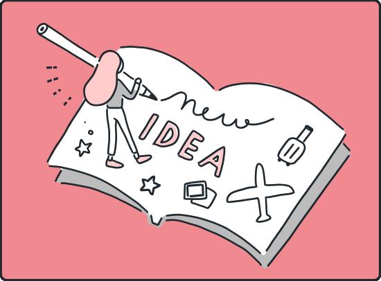 私はどちらかというとアイデア派で常に新しい手法を模索する