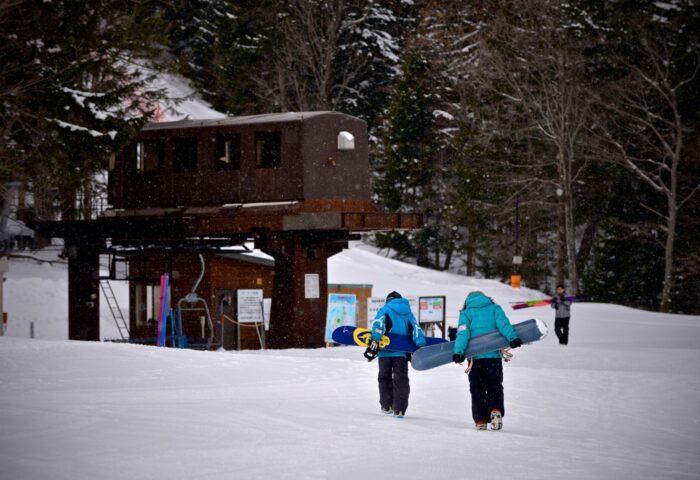 スキー場㈬