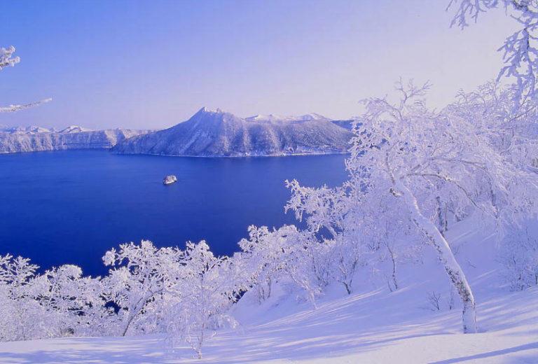 摩周湖_摩周湖の樹氷(摩周湖観光協会提供)