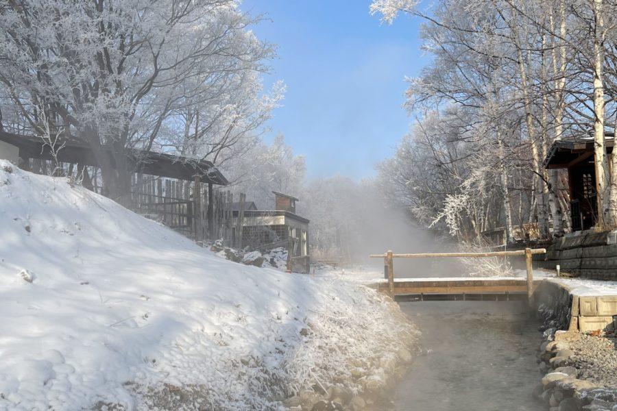 遊歩道霧氷 (2)