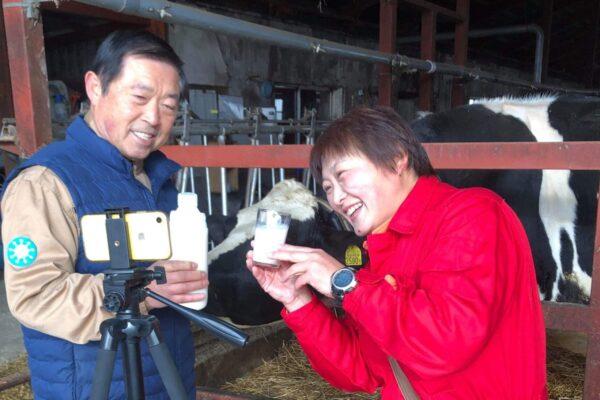 201212モニター・牛乳で乾杯(現場)